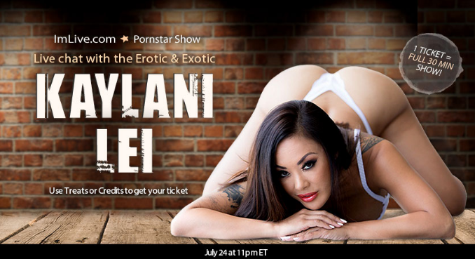 chat with porn star Kaylani Lei live on webcam - video chat with the best adult porn stars